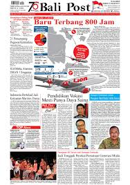Sdm untuk karyawan yang di tempatkan pada pt. Edisi Selasa 30 Oktober 2018 Balipost Com By E Paper Kmb Issuu