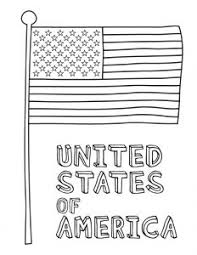 Superb American Flag Coloring Pages In Two Formats Free Coloring