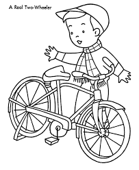 Small Picture Coloring Bike Coloring Pages Fresh On Minimalist Free Coloring