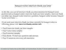 Cover Letter For A Server Waiter Cover Letter Templates Waitress Cover Letter Cocktail Server
