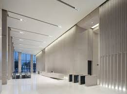 modern interior office. Office Entrance, Lobby, Sales Office, Building Interior Modern Interior, Lobby Architecture,