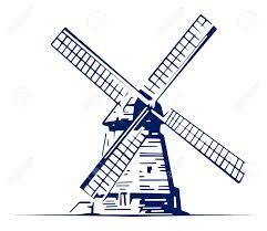 farm windmill drawing. Netherlands Clipart Farm Windmill #10 Drawing O
