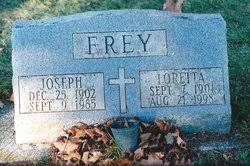 Loretta Mary Robers Frey (1901-1998) - Find A Grave Memorial