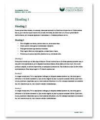Style Guide Template Word Microsoft Templates Download Page Marketing And University