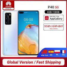 DHL Free Ship <b>Global Version Huawei P40</b> 5G Smartphone Kirin ...