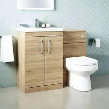 bathroom combination units combination bathroom toilet sink unit natural oak slimline bathroom combination units