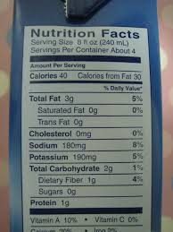 unsweetened almond breeze nutrition facts by stinky harriet