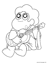 Guitar the guitar is a string instrument. Steven Universe Coloring Pages Pictures Whitesbelfast