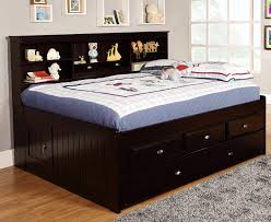 full size captains bed with storage. Unique Size Discovery World Furniture Espresso Full Captain Day Beds Inside Size Captains Bed With Storage D