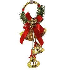 Toruiwa Weihnachtsbaum Glocken Christbaumschmuck Baumschmuck