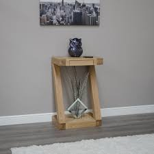 small hall furniture. Z Solid Oak Designer Furniture Small Hall Console Hallway Table