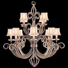 fine art lamps 137140 a midsummer night s dream 12 lamp crystal lined chandelier with loading zoom