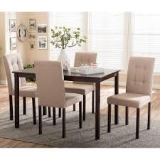 modern kitchen table and chairs. Baxton Studio Andrew 5 Piece Dining Table Set Modern Kitchen And Chairs U