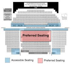 Calabasas Paec Seating Charts Los Angeles Symphonic Winds
