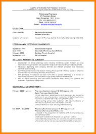 Pharmacist Resume Sample Hospital Pharmacist Resume Sample Resume