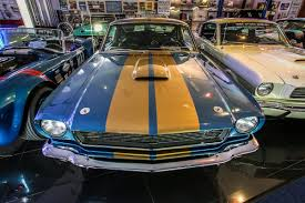 1966 GT350 Shelby Hertz (Blue) – The Carroll Collection