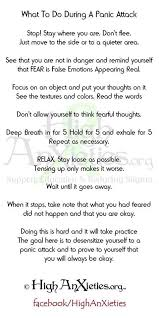 Panic Attack Quotes Amazing Panic Attack Survival Guide This Is Excellent Worth Printing Off