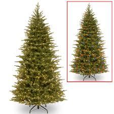 Dual Led Light Christmas Tree 7 5 Pre Lit Nordic Spruce Artificial Christmas Tree Dual Color Led Lights 31423076
