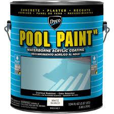 pool paint colorsDyco Paints Pool Paint 1 Gal 3150 White SemiGloss Acrylic