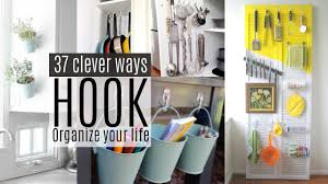 Command Strip Coat Rack 100 Organizing Ideas With Command Hooks YouTube 47