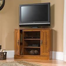 flat screen tv cabinet. Corner Flat Screen TV Stand Wood Entertainment Center Oak Wooden Media Cabinet Console Furniture Home Storage Tv
