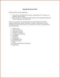 12 Simple Business Plan Template Sponsorship Letter Examples Of