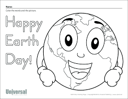 Earth Day Worksheets Free Printables For First Grade Printable