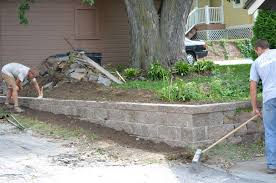 recent news picture guide to building a retaining wall