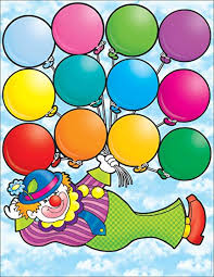 Ideas To Make Birthday Charts For Classroom Amazon Com Scholastic Clown Birthdays Chart Tf2154