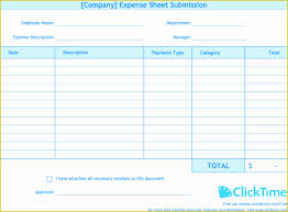 Expense Report Forms Free Free Report Templates Of Expense Report Template