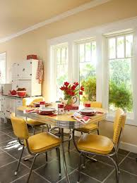 best 25 retro kitchen tables ideas on vine kitchen pertaining to contemporary household yellow dining room chairs ideas