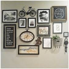 artistic wall collage decor on interior decoration with photo frames best 25