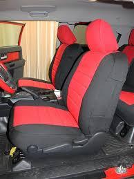 toyota fj cruiser seat covers wet