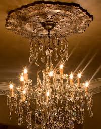 15 makeover what size ceiling medallion for chandelier pictures