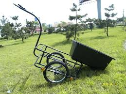 garden carts at lowes. Garden Wagon Lowes Plastic Bicycle Trailer Cart Black Two Wheel John Deere Carts At
