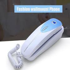 hotel office corded telephone silver