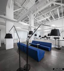 interior office space. blue communication office by jean guy chabauty u0026 anne sophie goneau montreal healthcare interior space e