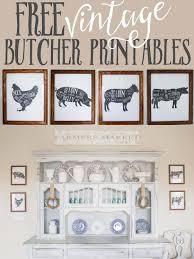 free vintage butcher printables wall art ideas on vintage style kitchen wall art with free vintage butcher printables wall art ideas printables