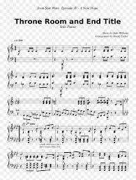 Digital sheet music for star wars (main theme) by , john williams, gail lew scored for easy piano/chords; From Star Wars Sheet Music Clipart 5368776 Pikpng