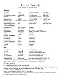 Special Skills On Resume List Of Special Skills Acting Resume Therpgmovie 9