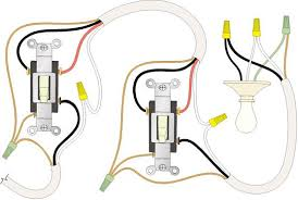 handymanwire wiring a 3 way or 4 way switch two way switch circuit diagrams pdf at Light Switch Wiring Diagram 2 Way