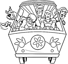 Free Printable Scooby Doo Halloween Coloring Pages Scooby Doo