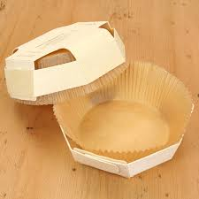 back to home 2 octagonal wooden biodegradable baking moulds