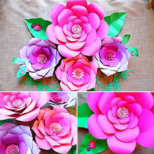 How To Make Paper Flower Backdrop 10 Gorgeous Paper Flower Backdrops Catch My Party