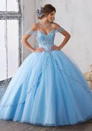 Light Blue Quince Dress Morilee 89135 Mori Lee Quinceanera Dresses Cinderella