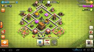Clash Of Clans Layout Cv 4 Tecnica De Combate Youtube
