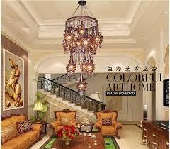 bohemian lighting. newly bohemian miderranean style colorful iron crystal pendant light creative dining room pastoral lamp free lighting
