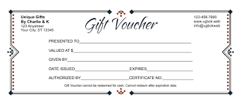 How To Create A Gift Certificate In Word