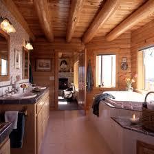 Cabin Bathroom Log Cabin Bathrooms Inmyinterior