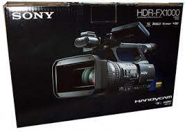 sony video camera handycam. sony hdr-fx1000 high definition minidv (hdv) handycam camcorder ntsc video camera